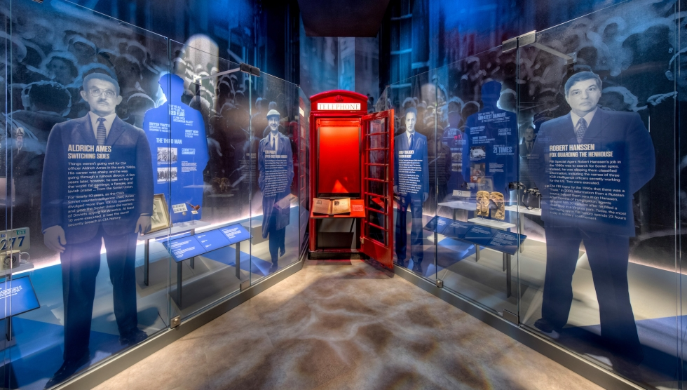 Turncoats and traitors exhibit at the spy museum