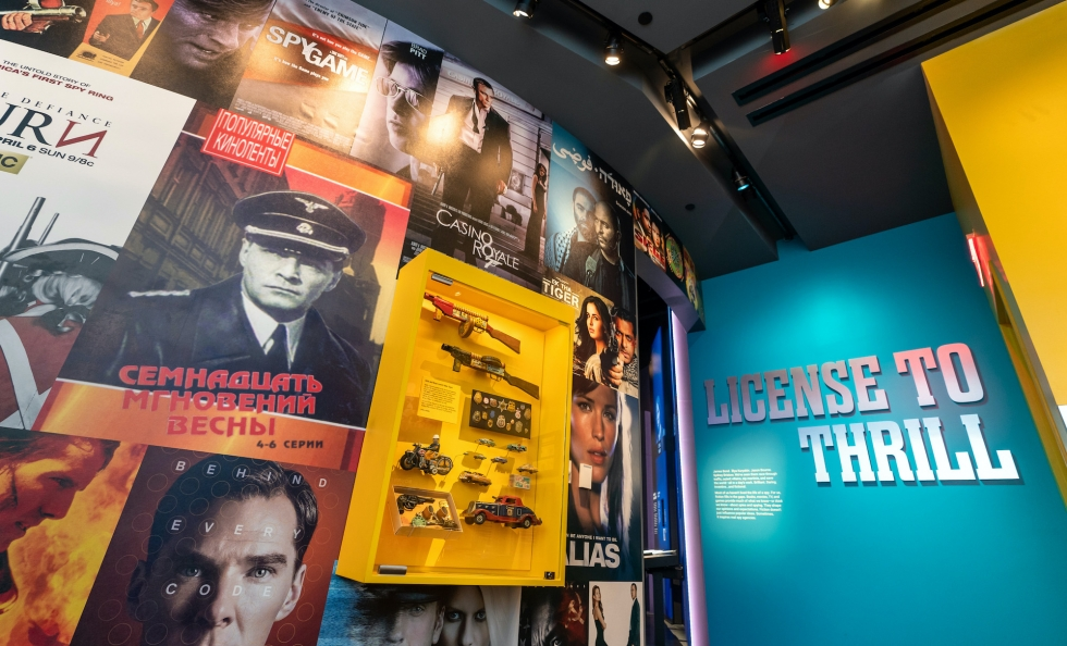 License to Thrill exhibit at the Spy Museum