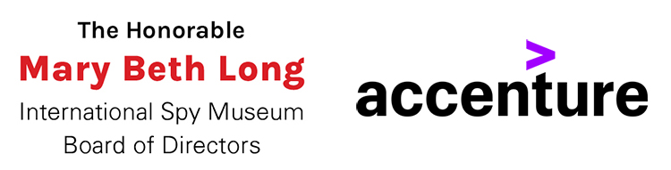 Mary Beth Long and Accenture logos