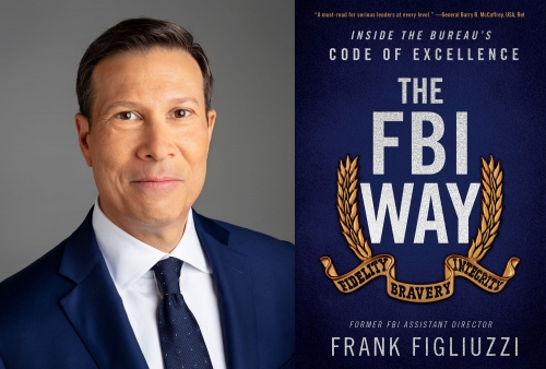 Frank Figliuzzi and his book 'The FBI Way'