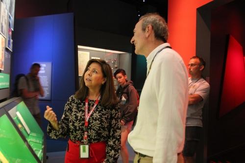 Spy Museum Volunteers Educating Guests