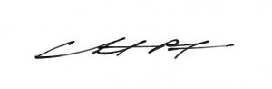 Chris Costa Signature