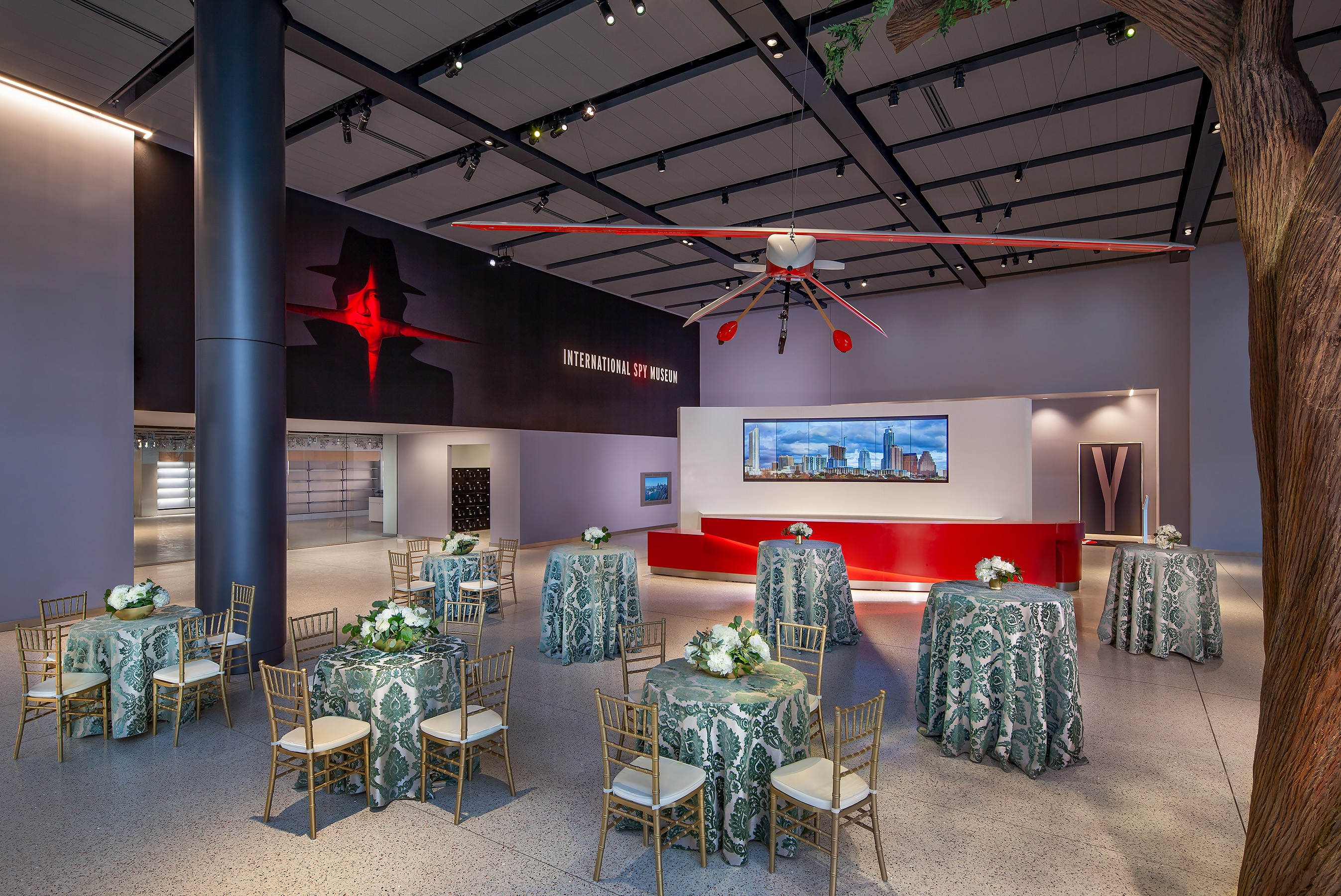 Private Event Spaces | International Spy Museum